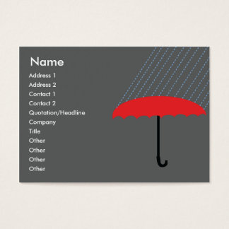 Umbrella - Chubby Business Card