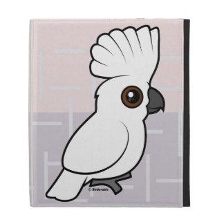 Umbrella Cockatoo (raised) iPad Folio Cases