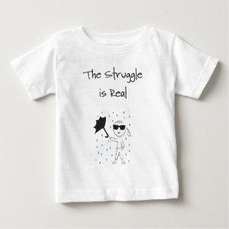 Umbrella Fail Struggle Is Real Baby T-Shirt