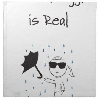 Umbrella Fail Struggle Is Real Napkin