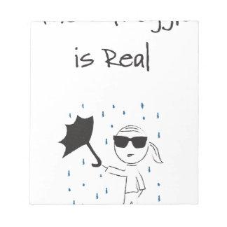 Umbrella Fail Struggle Is Real Notepad