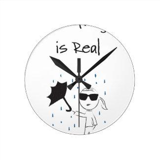 Umbrella Fail Struggle Is Real Round Clock