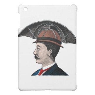 Umbrella Hat - Vintage Illustration iPad Mini Cases