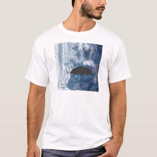 Umbrella in Blue Shower T-Shirt