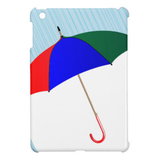 Umbrella In The Rain iPad Mini Cases