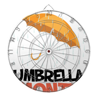 Umbrella Month - Appreciation Day Dartboard