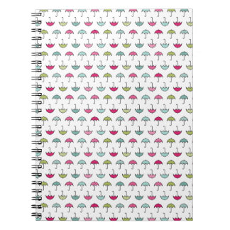 Umbrella Pattern Notebook