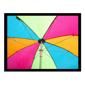 Umbrella Postcard