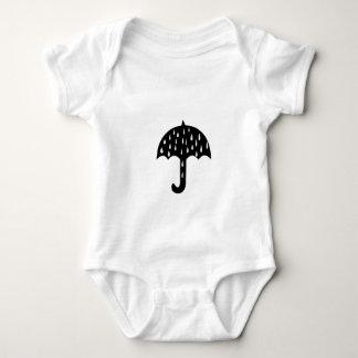 umbrella rain baby bodysuit
