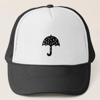 umbrella rain trucker hat