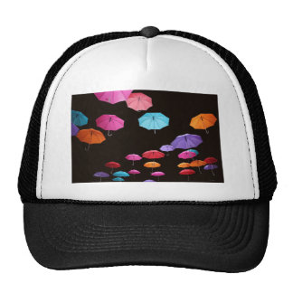 Umbrella rainy day sunshade parasol pattern trucker hat