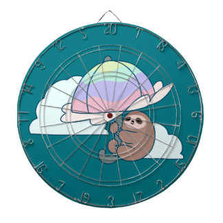 Umbrella Sloth Dartboard