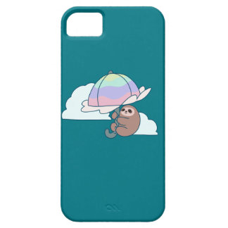 Umbrella Sloth iPhone 5 Cover