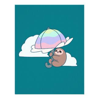 Umbrella Sloth Letterhead