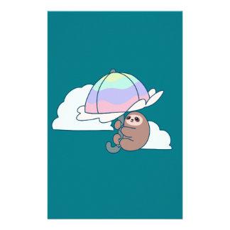 Umbrella Sloth Stationery