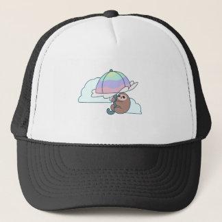 Umbrella Sloth Trucker Hat