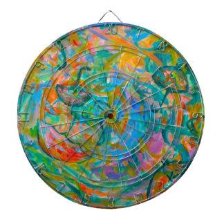 Umbrella Swirl Dartboard