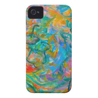 Umbrella Swirl iPhone 4 Case-Mate Case