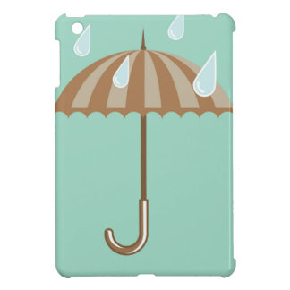 Umbrella with Rain Drops iPad Mini Covers