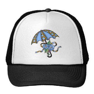 Umbrella with Roses 03 Trucker Hat