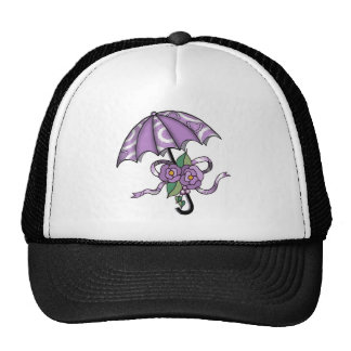 Umbrella with Roses 05 Trucker Hat