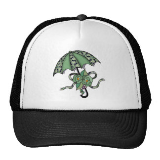 Umbrella with Roses 06 Trucker Hat