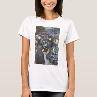 Umbrellas by Pierre Renoir, Vintage Impressionism T-Shirt