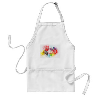 Umbrellas  Colorful Abstract Standard Apron