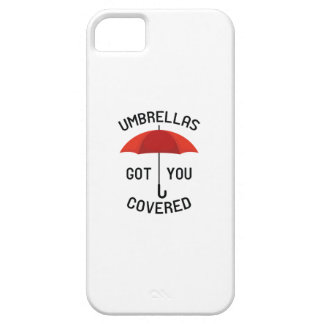 Umbrellas Got You Covered iPhone 5 Case
