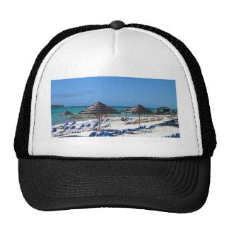 Umbrellas in the Bahamas Trucker Hat