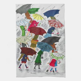 Umbrellas Towels