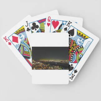 Umeda Japan Skyline Bicycle Playing Cards