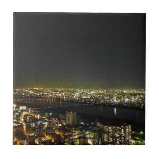 Umeda Japan Skyline Tile
