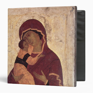 Umilenie Virgin of Wladimir, Moscow School 3 Ring Binder