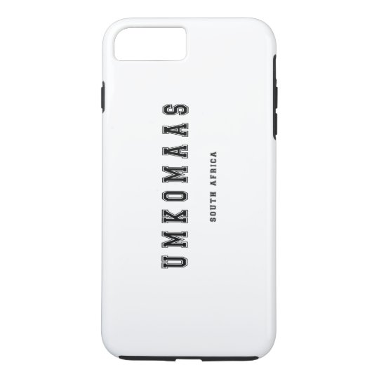 Umkomaas South Africa iPhone 8 Plus/7 Plus Case