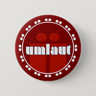 Umlaut Rondell Buttons - Brick Red