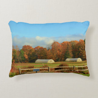 UMO Rogers Farm Autumn Scenery 2015 Decorative Pillow