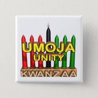 Umoja 2 Inch Square Button