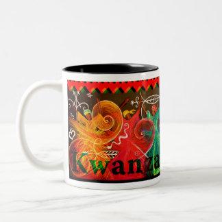 Umoja! - Kwanzaa Two-Tone Mug