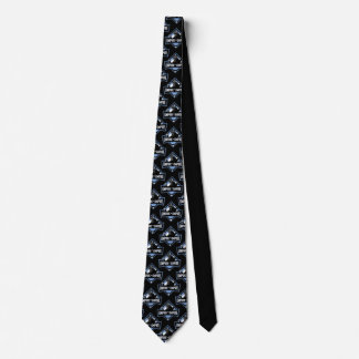 Umpire-Empire Patterned tie