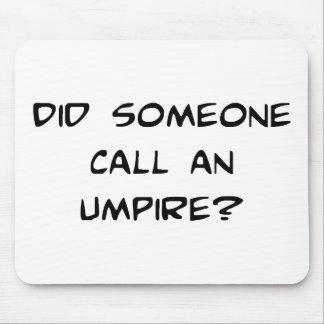 Umpire Mousepad
