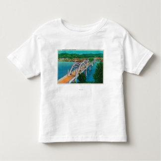 Umpqua River Bridge in Reedsport, Oregon Toddler T-shirt