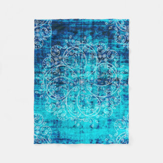 Umsted Design Grungy Pinwheel Fleece Blanket