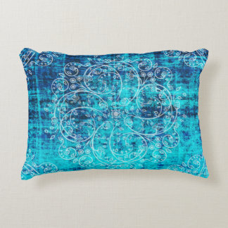Umsted Design Grungy Pinwheels Decorative Pillow