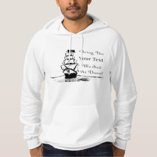 Umsted Design Pirate Fill In The Blank Hoodie