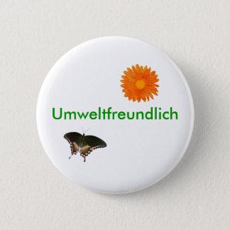 Umweltfreundlich 2 Inch Round Button