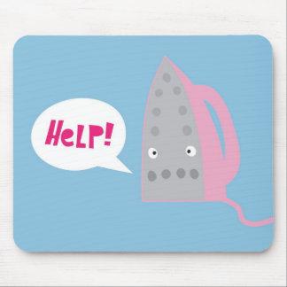 Un appel à l'aide tapis de souris