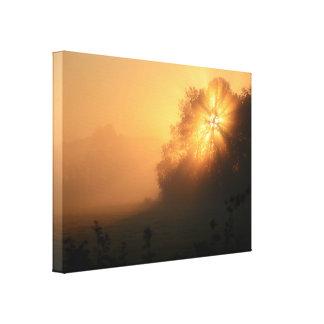 Un autre beau lever de soleil d'or toiles