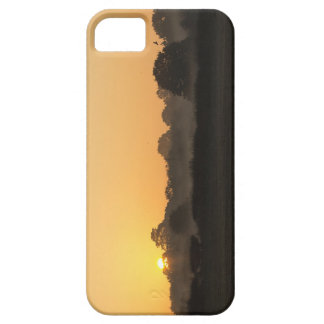 Un beau lever de soleil d'automne coque iPhone 5