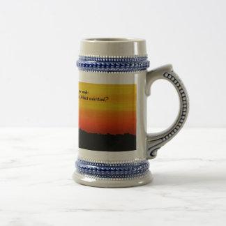 Un beau lever de soleil mug